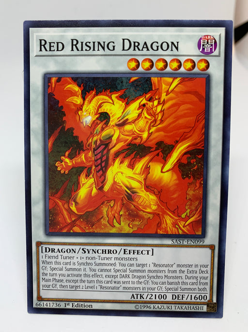 Red Rising Dragon / Common - SAST-EN099 - 1st