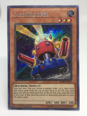 Card Trooper / Secret - BLRR-EN053 - 1st