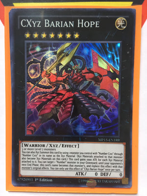 CXYZ BARIAN HOPE - SUPER - MP15-EN189 - 1ST