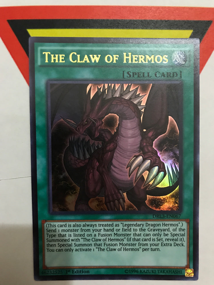The Claw of Hermos / Ultra - DRL3-EN067 - 1st