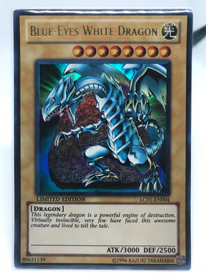Blue-Eyes White Dragon / Ultra - LC01-EN004 - Lim
