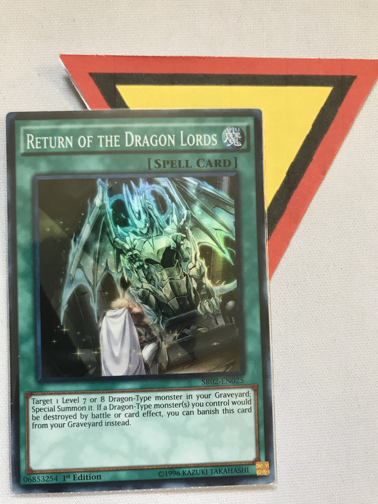 RETURN OF THE DRAGON LORDS - SUPER - SR02-EN025 - 1ST