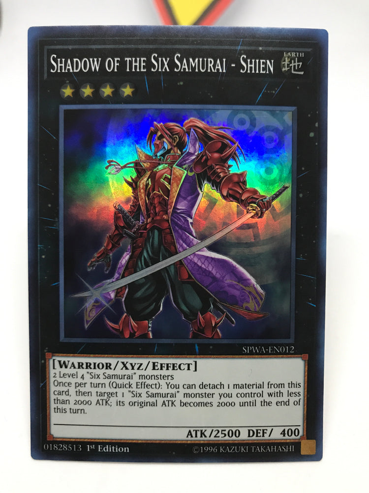 Shadow of the Six Samurai - Shien / Super - SPWA-EN012 - 1st