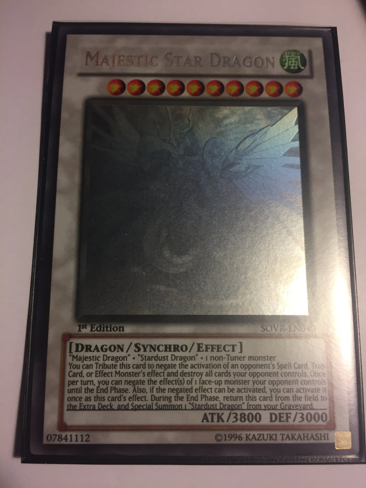 Majestic Star Dragon / Ghost - SOVR-EN040 - 1st - VLP