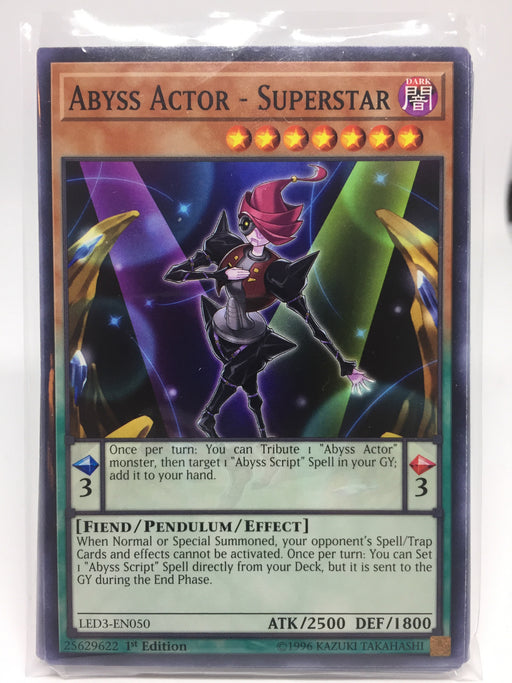Abyss Actor - Superstar / Common - LED3-EN050 - 1st