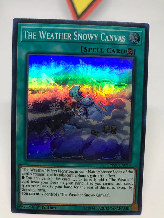 The Weather Snowy Canvas - Super - SPWA-EN036 - 1st