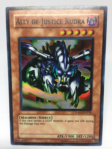 Ally of Justice Rudra / Super - HA01-EN016