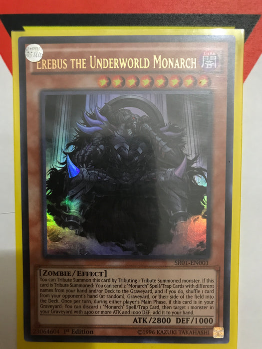 Erebus the Underworld Monarch - Ultra - SR01-EN001 - 1st