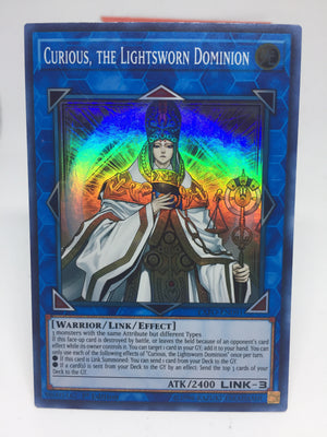 Curious, the Lightsworn Dominion / Super - EXFO-EN091 - 1st
