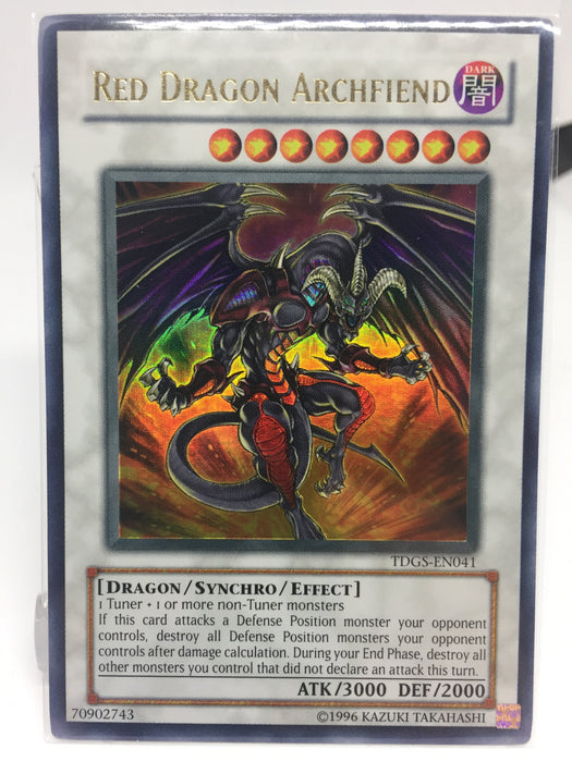 Red Dragon Archfiend / Ultra - TDGS-EN041