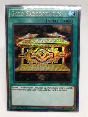 Gold Sarcophagus / Secret - HISU-EN051 - 1st