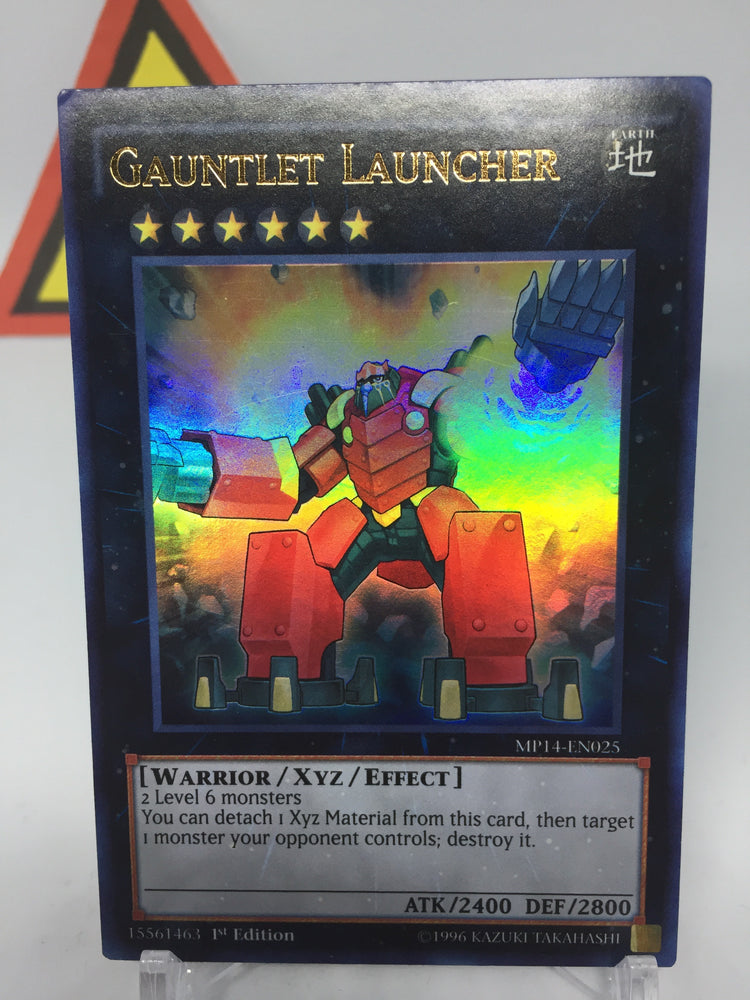 Gauntlet Launcher / Ultra - MP14-EN025 - 1st