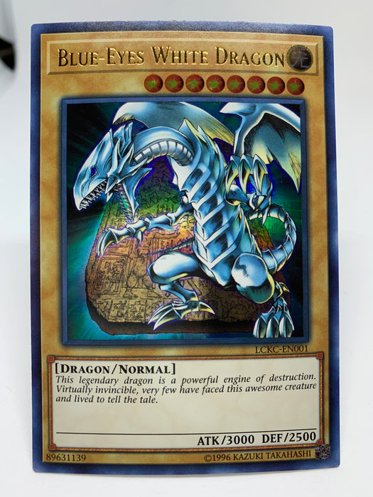 Blue-Eyes White Dragon (alt. art) / Ultra - LCKC-EN001