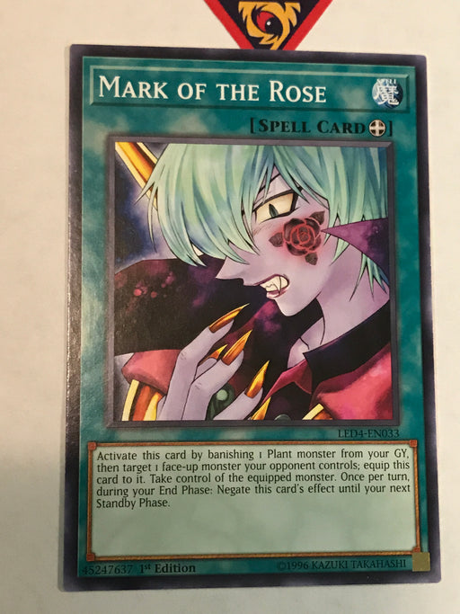 Mark of the Rose / Common - LED4-EN033 - 1st