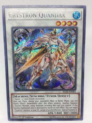 Crystron Quandax / Secret - BLRR-EN083 - 1st