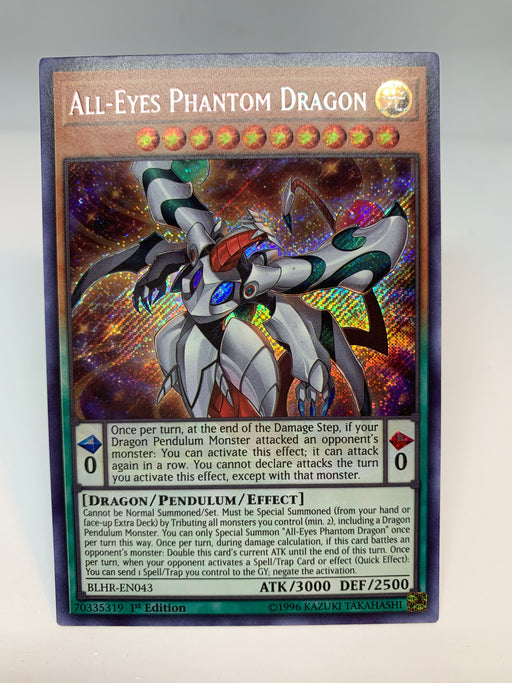 All-Eyes Phantom Dragon / Secret - BLHR-EN043 - 1st