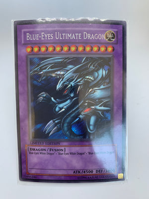 Blue-Eyes Ultimate Dragon / Secret - RP01-EN000 - Lim - LP