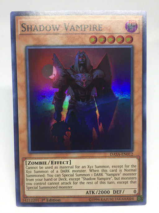 Shadow Vampire - Super - DASA-EN012 - 1st