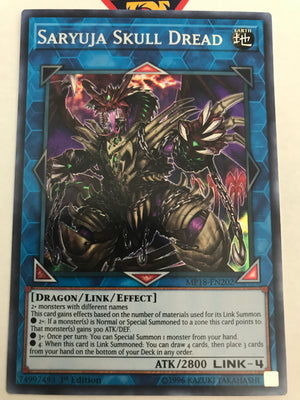Saryuja Skull Dread / Secret - MP18-EN202 - 1st