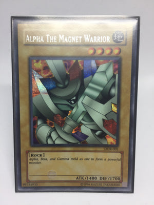 Alpha the Magnet Warrior / Prismatic Secret - DOR-001