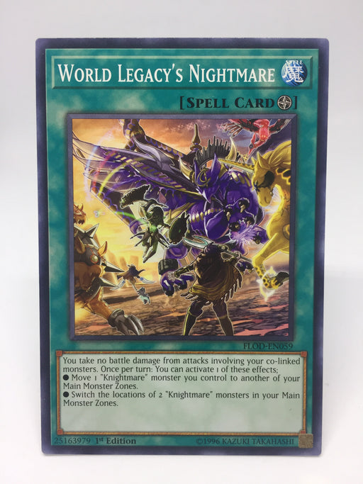 World Legacy's Nightmare - Common - FLOD-EN059 - 1st