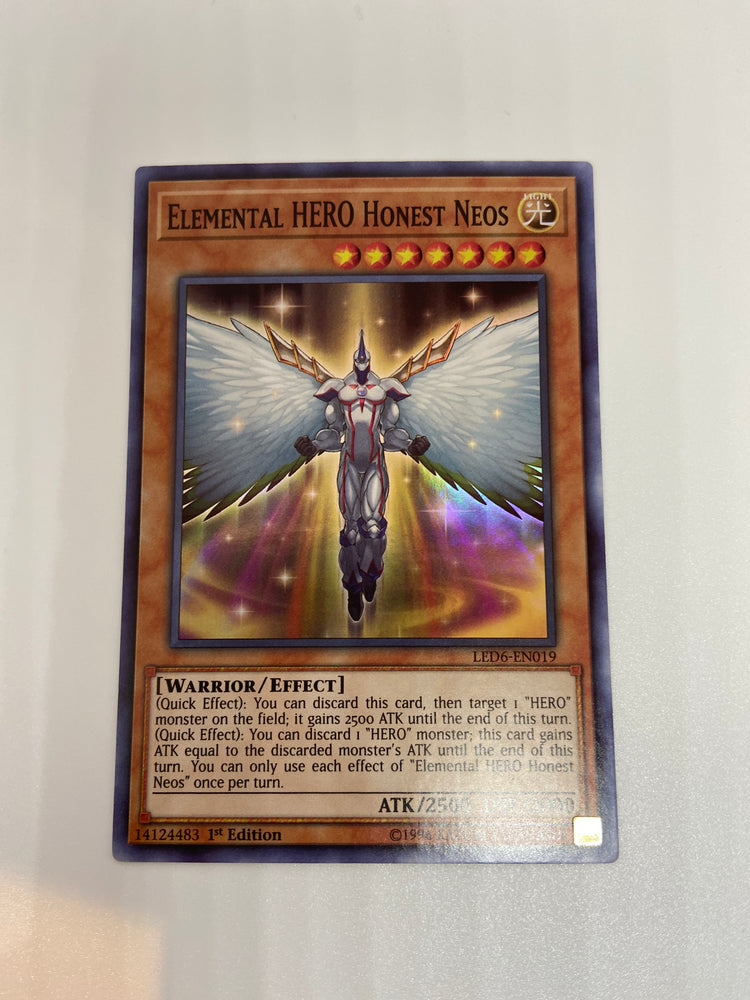 Elemental HERO Honest Neos / SUPER - LED6-EN019 - 1st