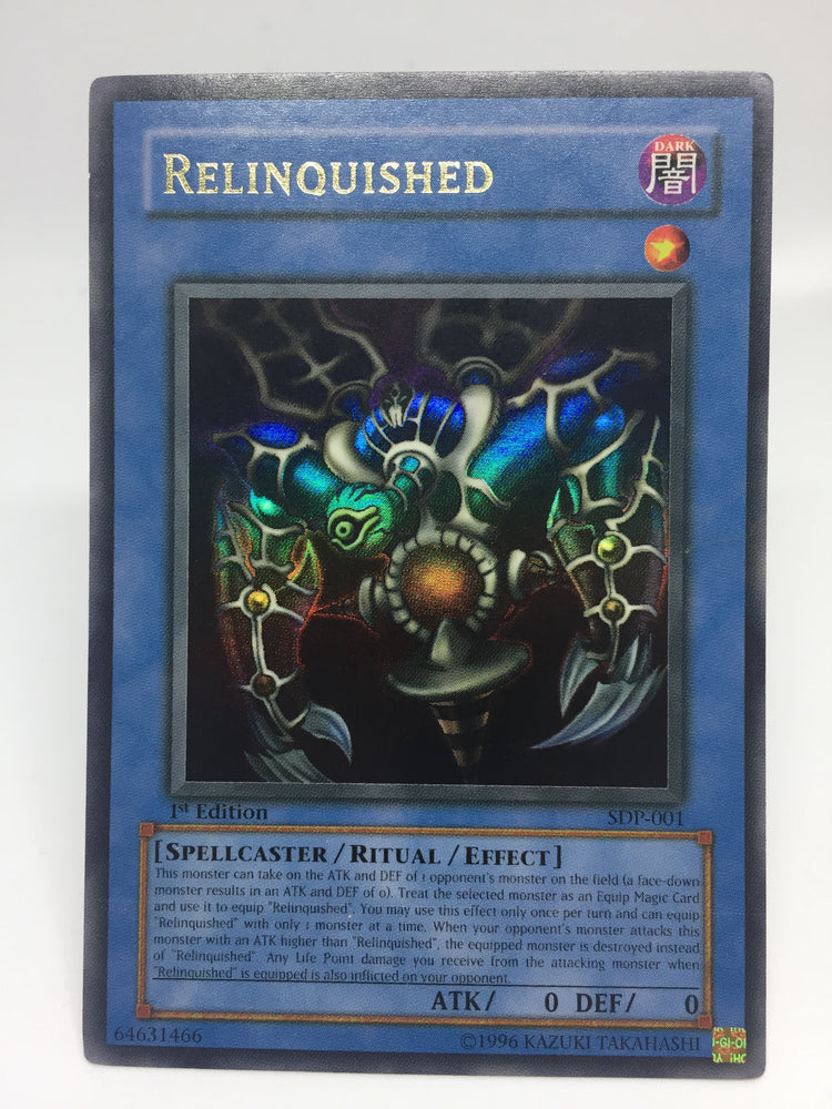 Relinquished / Ultra - SDP-001 - 1st - VLP