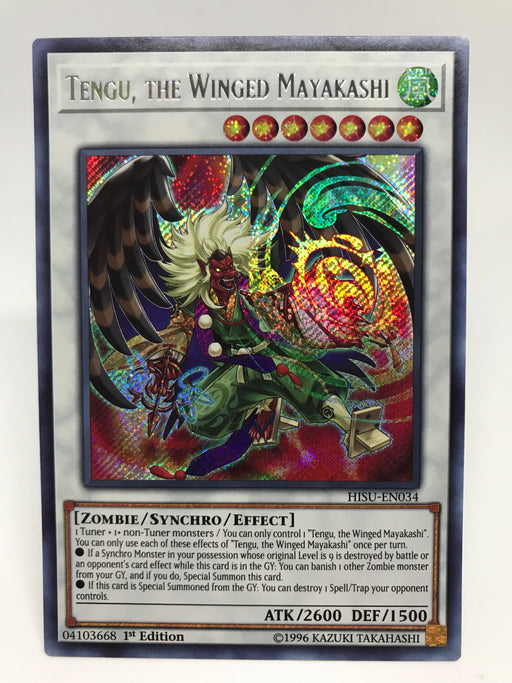 Tengu, the Winged Mayakashi / Secret - HISU-EN034 - 1st