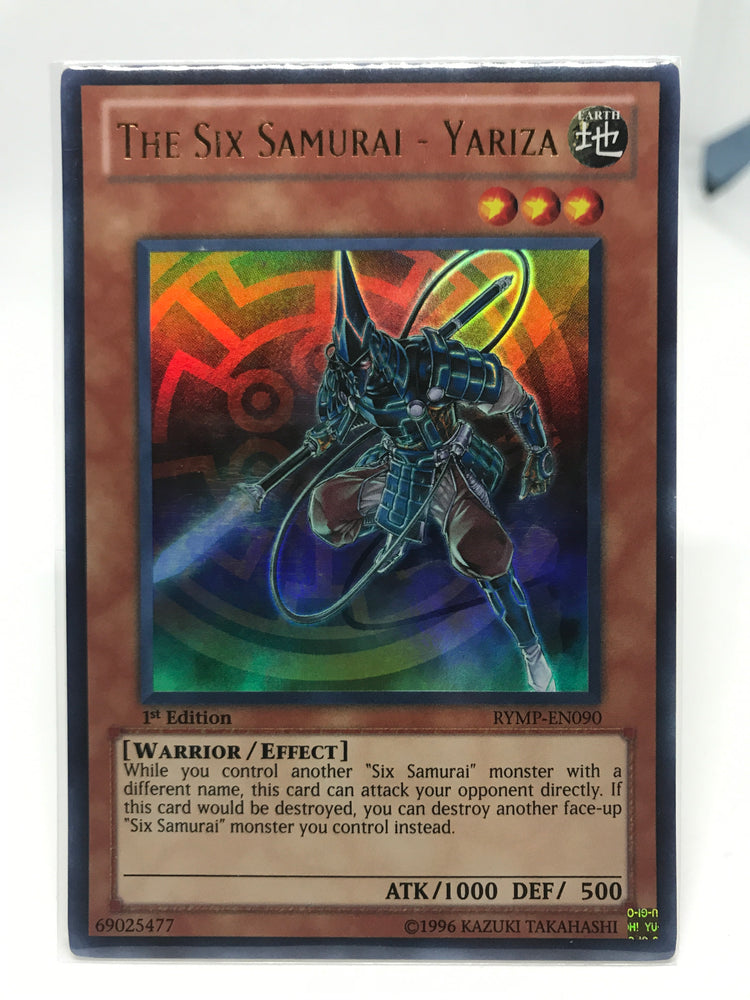 The Six Samurai - Yariza / Ultra - RYMP-EN090 - 1st