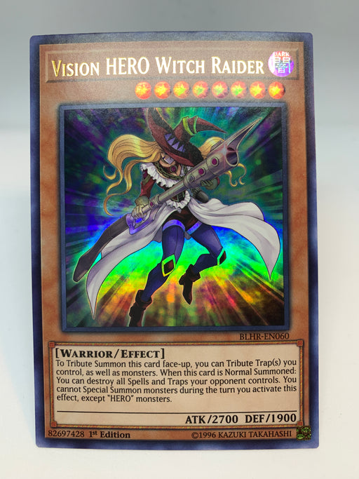 Vision HERO Witch Raider - BLHR-EN060 - 1st Edition