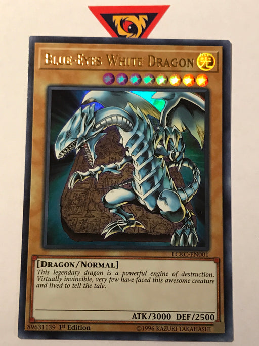 Blue-Eyes White Dragon (alt. art) / Ultra - LCKC-EN001 - 1st
