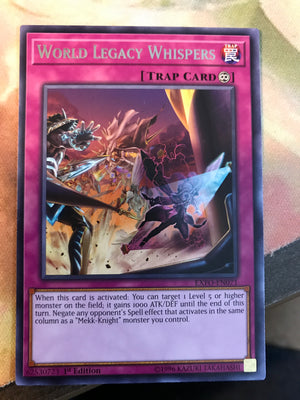 World Legacy Whispers - Rare - EXFO-EN071