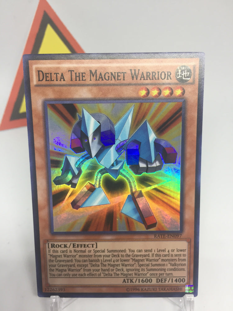 Delta the Magnet Warrior - Super - RATE-EN097