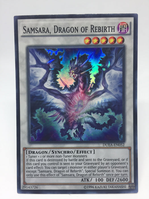 SAMASARA, DRAGON OF REBIRTH - SUPER - DUEA-EN052 - 1ST