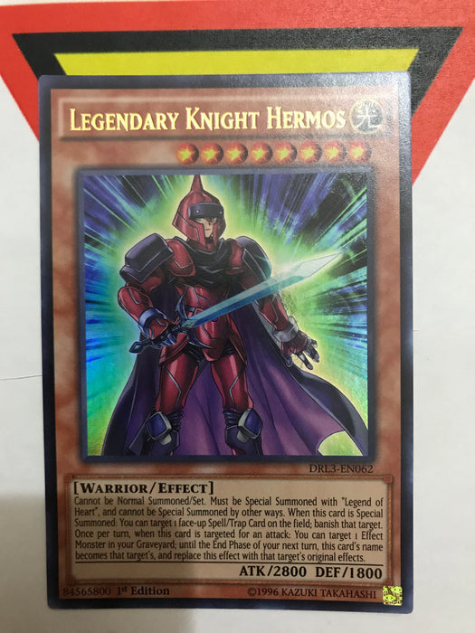 Legendary Knight Hermos / Ultra - DRL3-EN062 - 1st