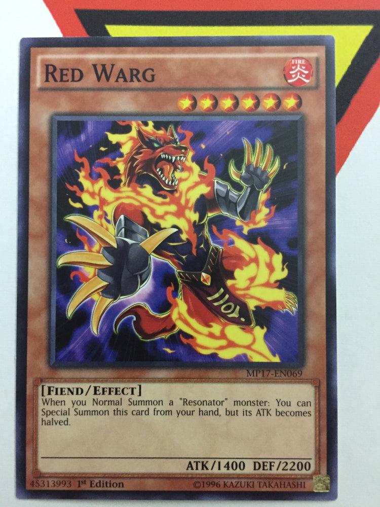 RED WARG - COMMON - MP17-EN069 - 1ST