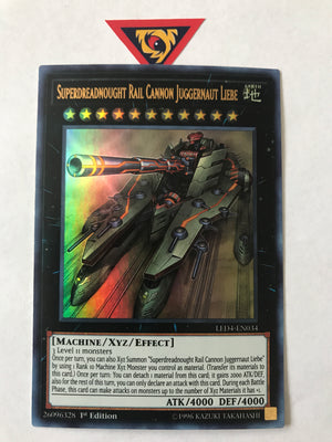 Superdreadnought Rail Cannon Juggernaut Liebe / Ultra - LED4-EN034 - 1st