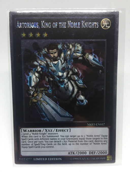 Artorigus, King of the Noble Knights / Platinum - NKRT-EN0037 - Lim