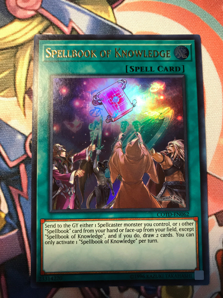 SPELLBOOK OF KNOWLEDGE - ULTRA - COTD-EN062