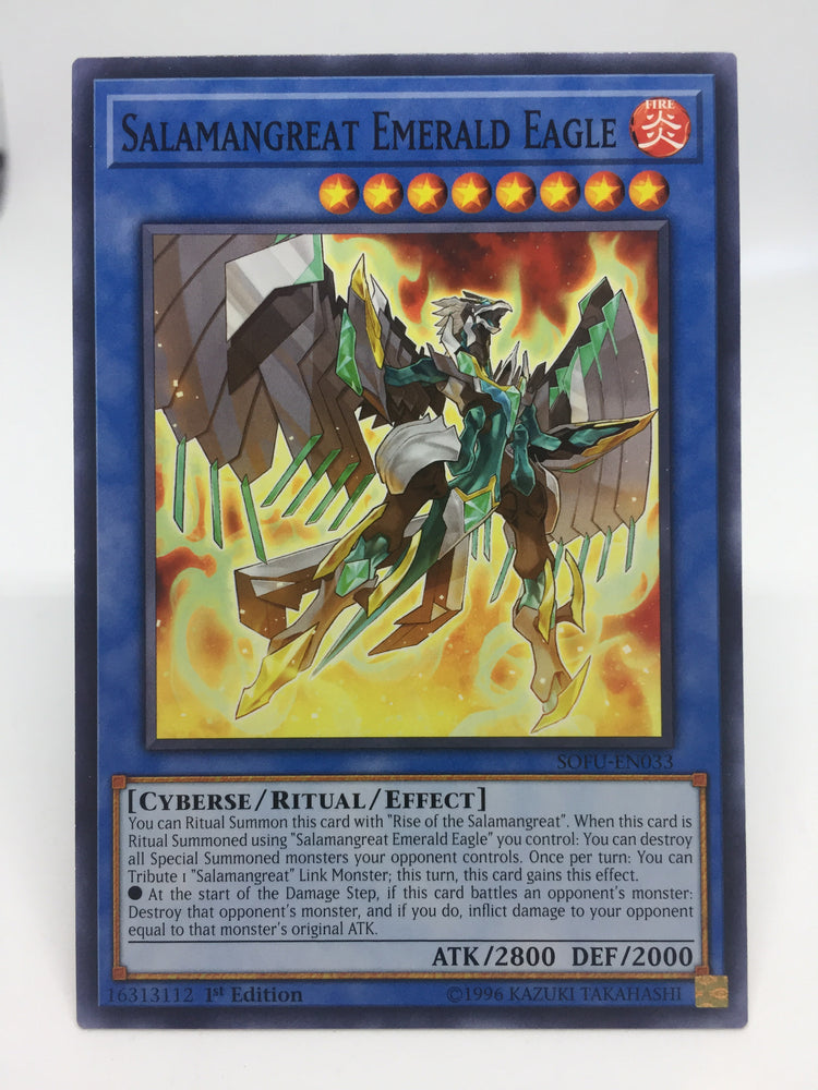 Salamangreat Emerald Eagle / Common - SOFU-EN033 - 1st