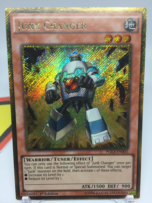 Junk Changer / Gold Secret - PGL3-EN002 - 1st