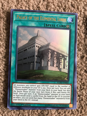 Palace of the Elemental Lords / Ultra - FLOD-EN060
