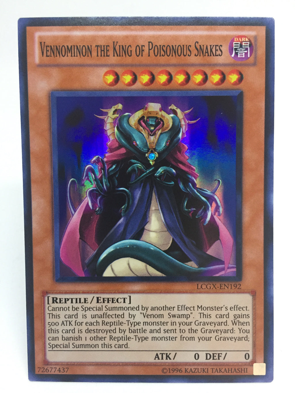 Vennominon the King of Poisonous Snakes / Super - LCGX-EN192