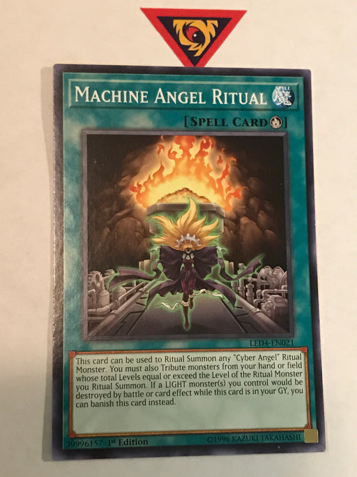 Machine Angel Ritual / Common - LED4-EN021 - 1st