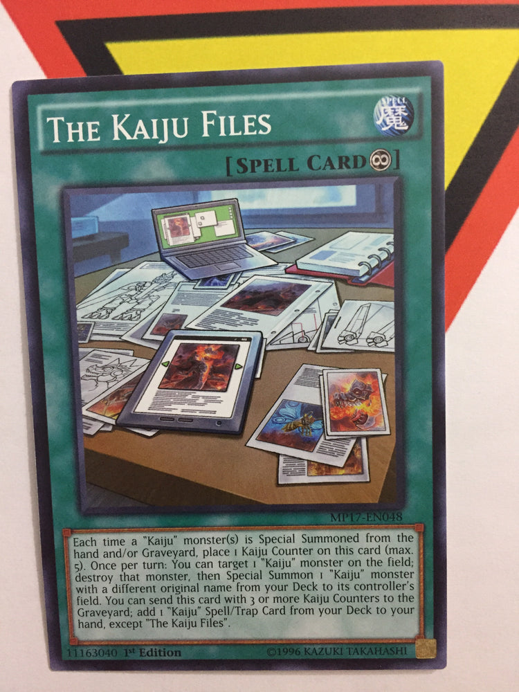 THE KAIJU FILES - COMMON - MP17-EN048 - 1ST
