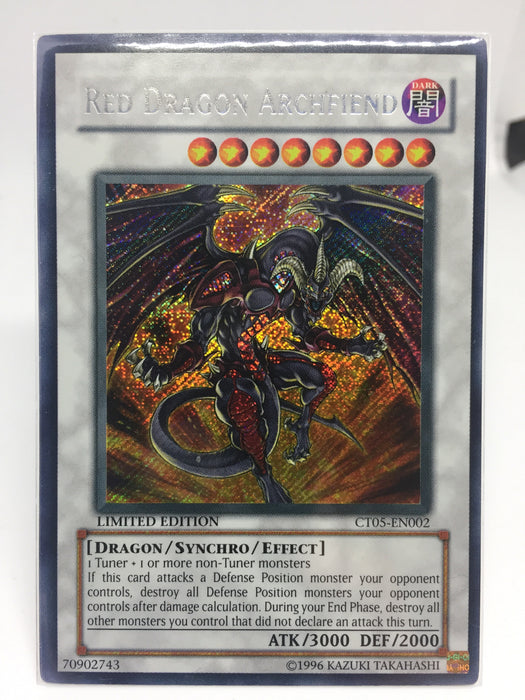 Red Dragon Archfiend / Secret - CT05-EN002 - Lim