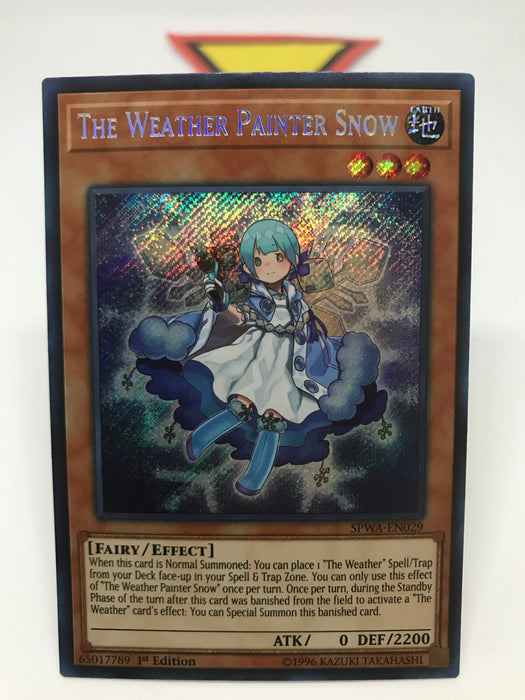 The Weather Painter Snow / Secret - SPWA-EN029 - 1st