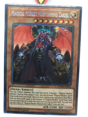 Magical Musket Mastermind Zakiel - Secret - SPWA-EN022 - 1st