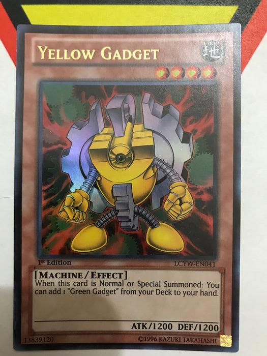 Yellow Gadget - Ultra - LCYW-EN041 - 1st