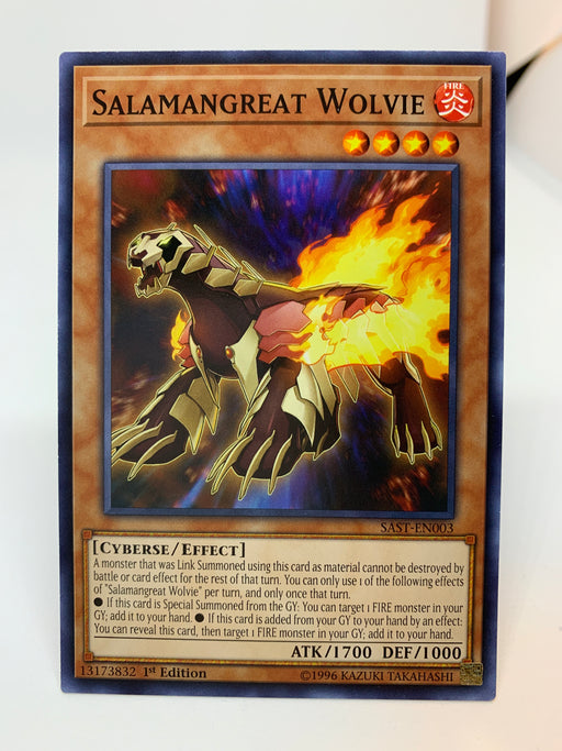 Salamangreat Wolvie / Common - SAST-EN003 - 1st